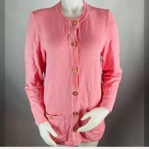 ESCADA Sweater Coat Duster Cardigan